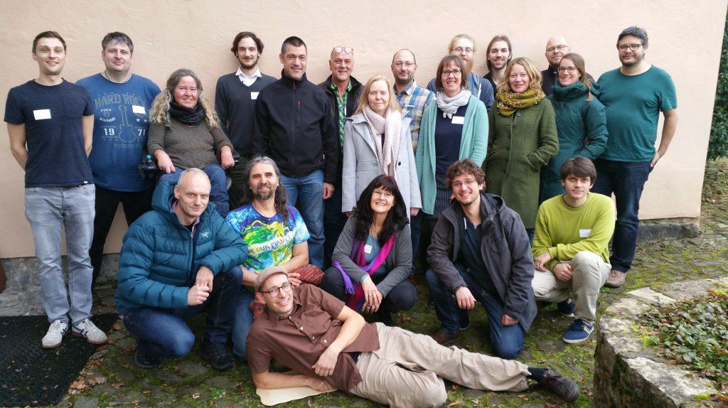 das PCG-Team im Januar 2020